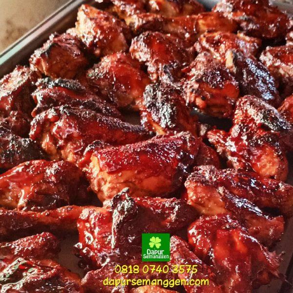 Nasi Kotak Ayam Bakar Mbak Feni di Tebet Jakarta
