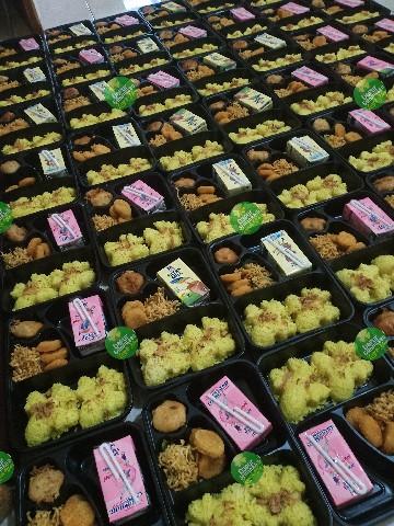 nasi box paket ulang tahun anak murah