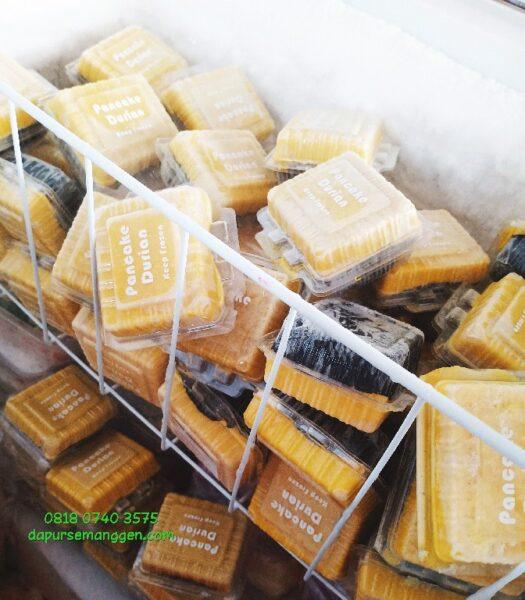 Frozen pancake durian asem baris tebet