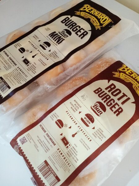 Roti Burger Bernardi Asem baris Tebet
